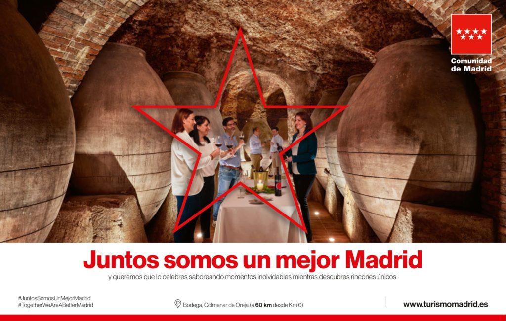 El programa 'Descorcha Madrid' ofrece un total de 40 experiencias enoturísticas 100% subvencionadas en la Comunidad de Madrid.